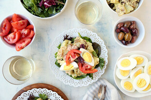 Heart-Healthy Idaho® Potato Nicoise Salad