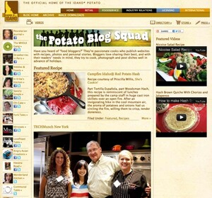 Idaho® Potatoes Star as Main Ingredient in Food Blogs Across the Country