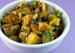 Tri-Color Curried Potato Salad