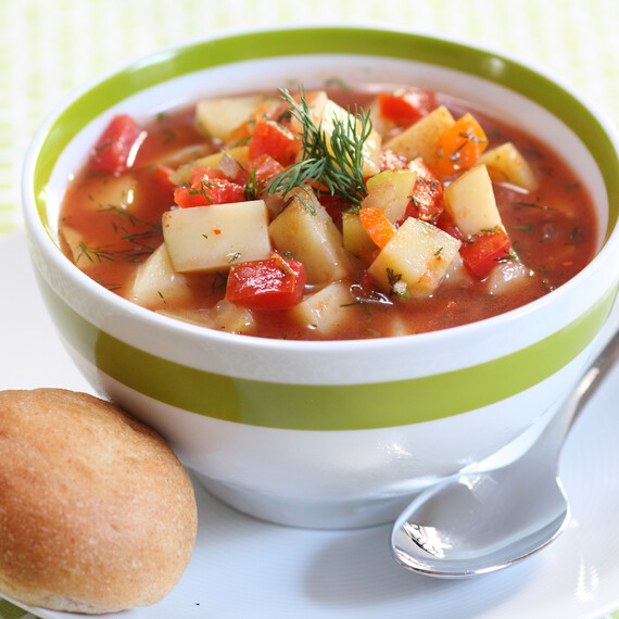 Idaho® Potato Gazpacho