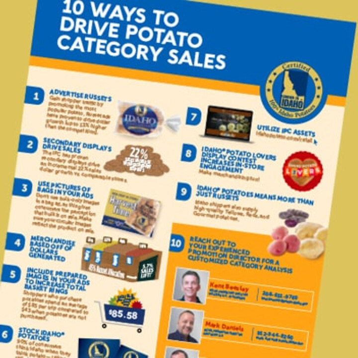 10 Ways to Drive Potato Category Sales