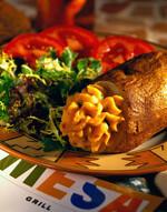 Twice-Baked Idaho® Potatoes with Smoked Chiles