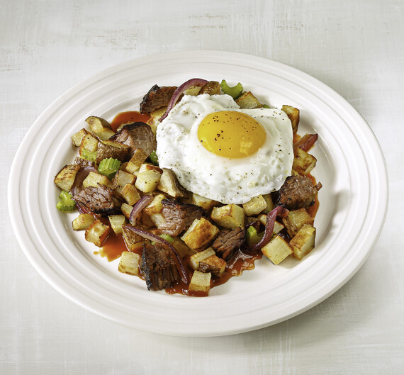 Idaho® Potato Smoked Brisket Hash