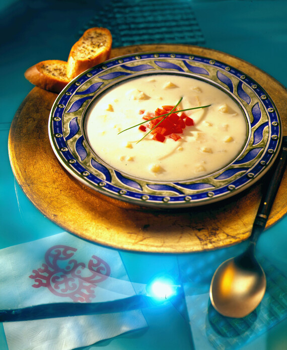 Cream of Idaho® Potato & Celery Root Soup