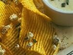 Crisp Potatoes with Gorgonzola
