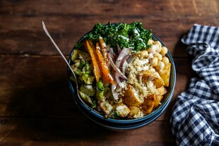 Roasted Potato Buddha Bowl