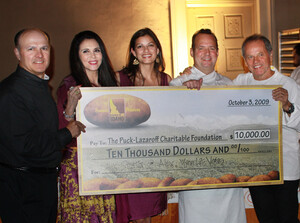 Chef Alex Stratta of Wynn Las Vegas Wins $10,000 for Meals On Wheels During Idaho Potato Commission's 'Chef Challenge' at American Wine and Food Festival