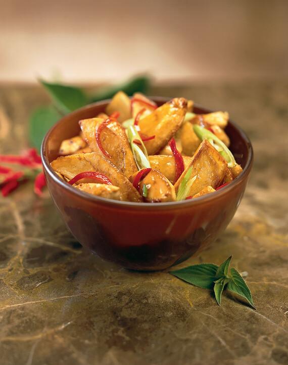 Idaho® Potato and Chicken Stir Fry