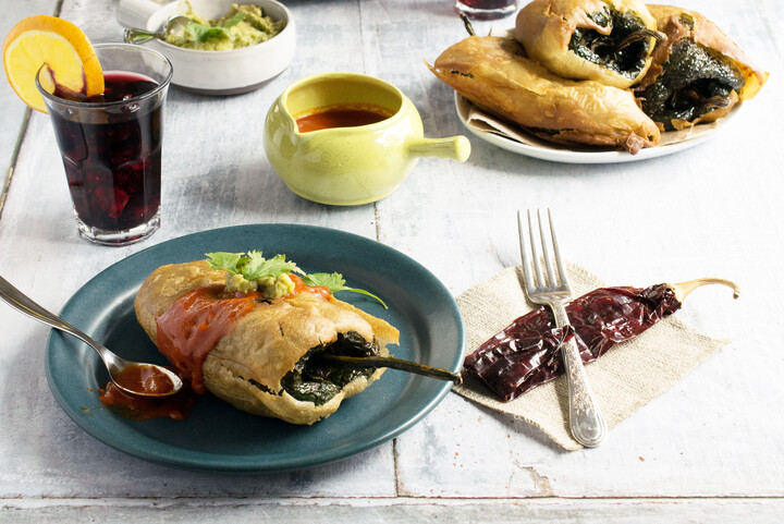 Potato-Stuffed Chiles Rellenos