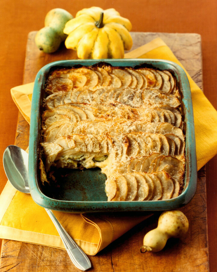 Low-Fat Idaho® Potato Gratin