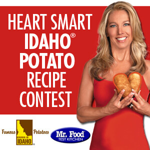Idaho Potato Commission Launches Heart Smart Recipe Contest with Denise Austin and the Mr. Food Test Kitchen