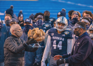 "Nevada Wolfpack Bring Home the ""W"" After Fourth Appearance at the Famous Idaho® Potato Bowl"