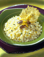 Idaho® Potato Risotto with Black Truffles