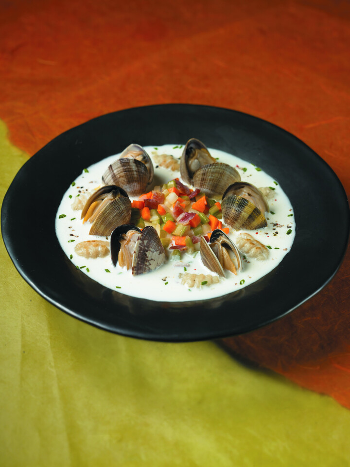 Idaho® Potato Gnocchi with Clam Chowder