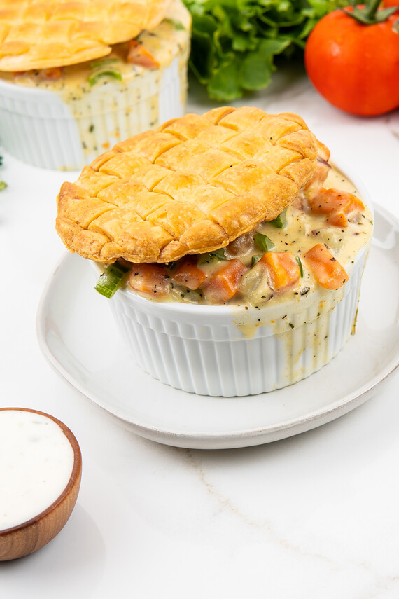Idaho® Potato and Litehouse® Ranch Pot Pies