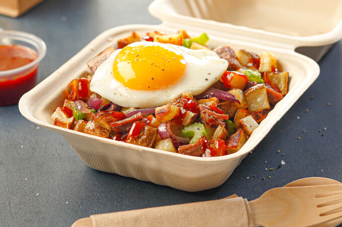 Hash it Out for Take-Out!