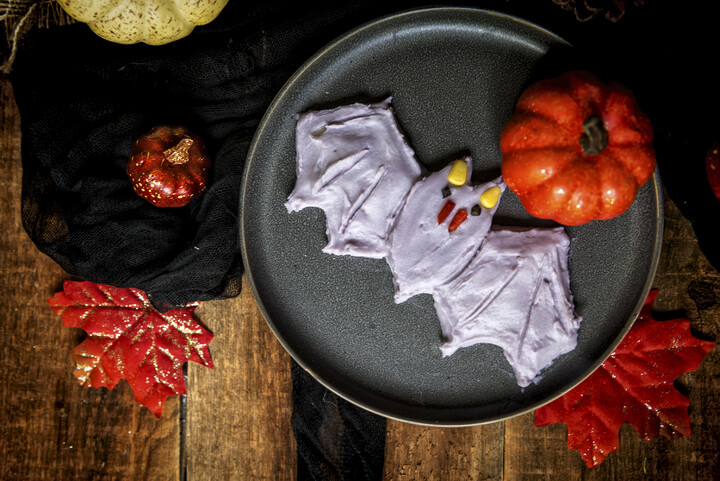 Creepy Idaho® Potato Critters: Purple Vampire Bat