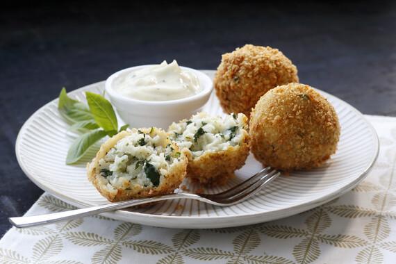 Blue Cheese Potato Croquettes