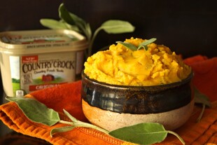 Pumpkin Sage Mashed Idaho® Potatoes