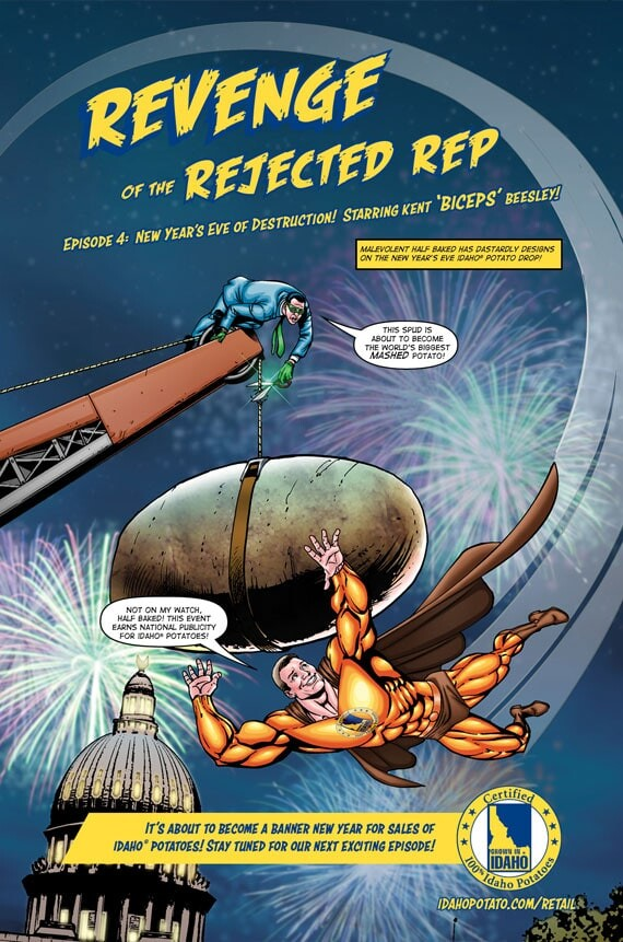 Episode 4: New Year's Eve of Destruction! Starring Kent 'Biceps' Beesley!