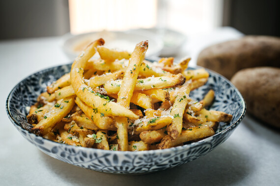 Idaho® Potato Truffle Fries with Parmesan