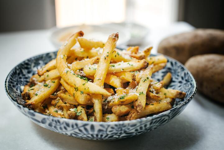Idaho® Potato Truffle Fries with Parmesan