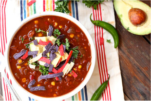 Taco Tortilla Soup with Idaho® Potatoes