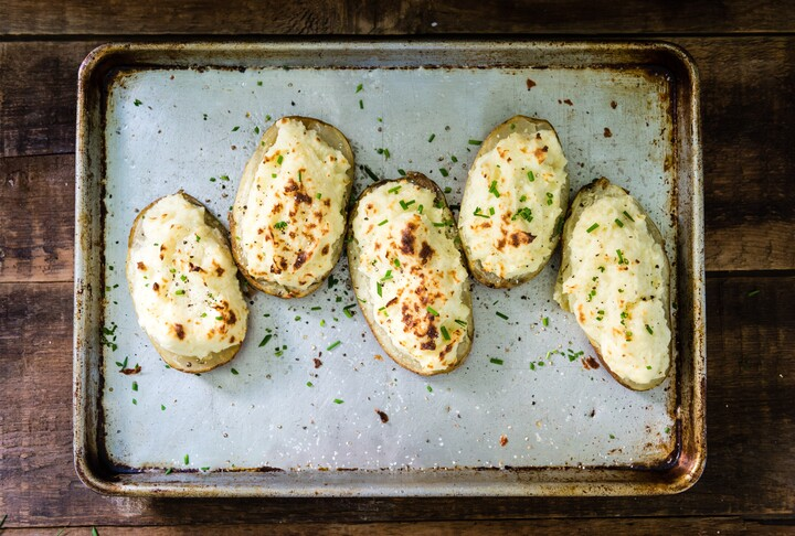Basic Twice Baked Idaho® Potatoes