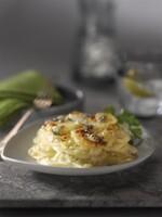 Roquefort Scalloped Idaho® Potatoes