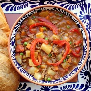 Idaho® Potato and Beef Paprika Stew