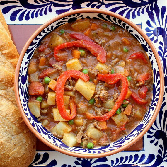 Idaho® Potato and Beef Paprika Stew