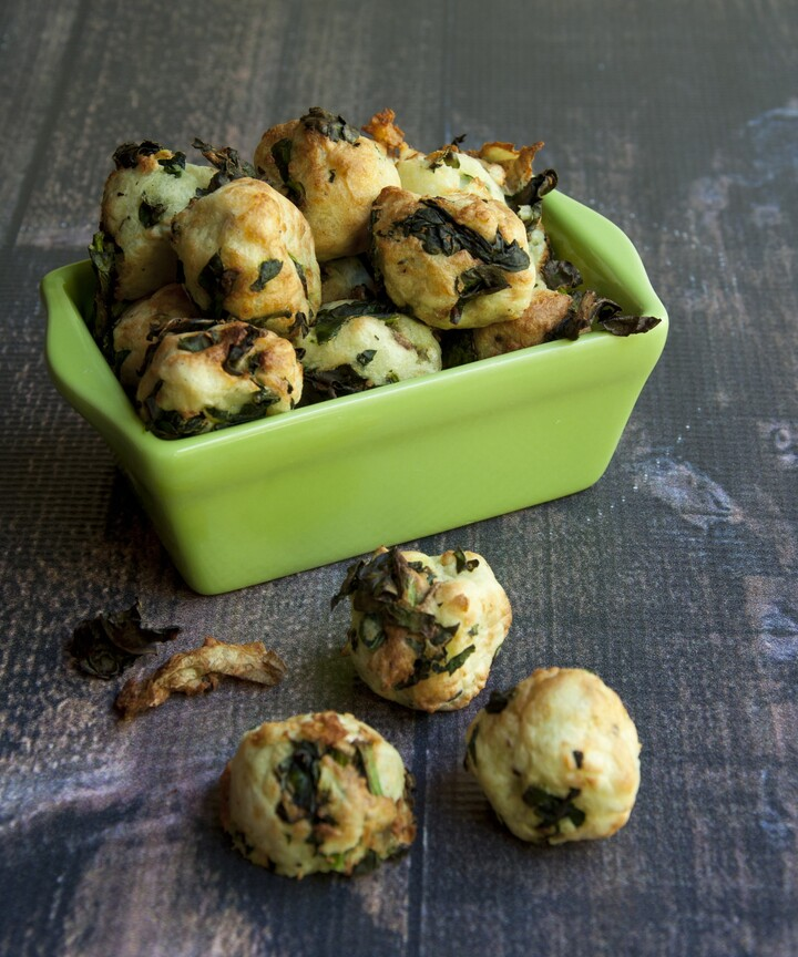 Kale and Idaho® Potato Nuggets