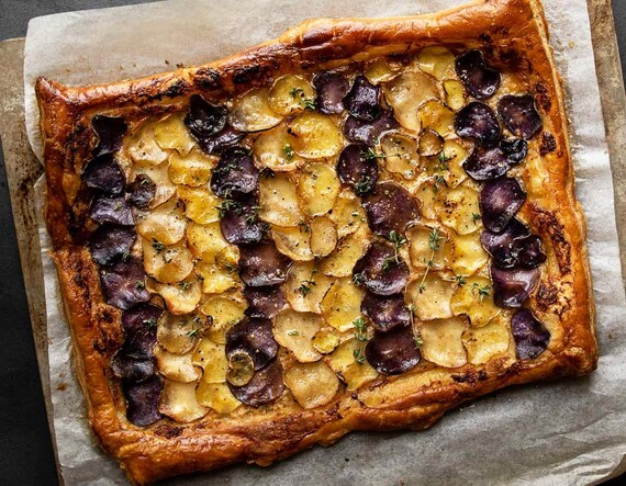 Idaho® Potato & Mascarpone Tart