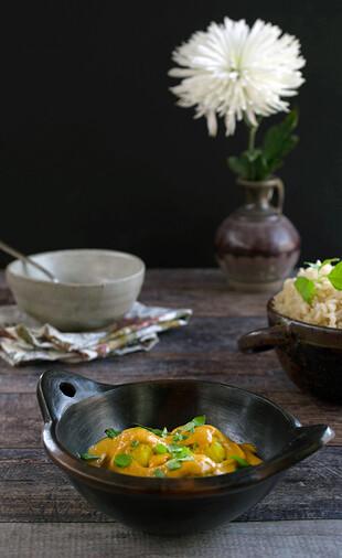 Idaho® Potato Kofta with an Easy Creamy Curry Sauce (Aloo Kofta)