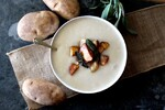 Light Cream of Potato Soup