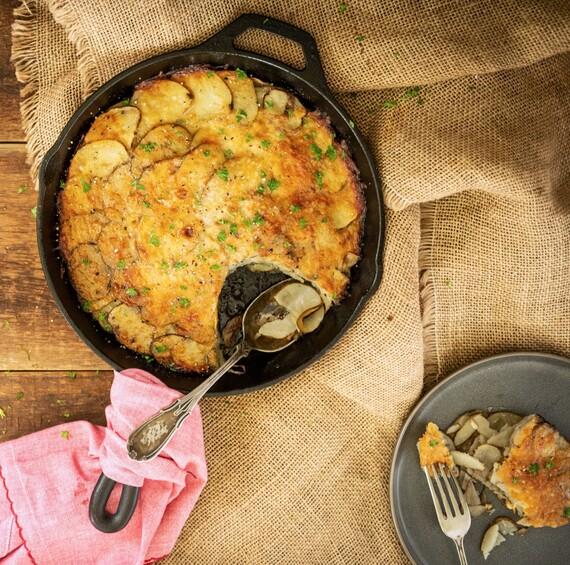 Easy Basic Au Gratin Potatoes