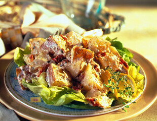 Mediterranean Idaho® Potato Salad