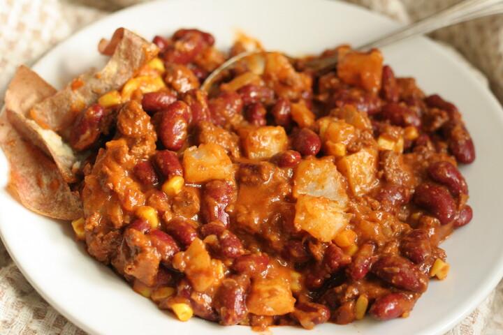 Quick Idaho® Potato Chili