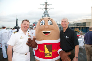 Ships Ahoy! The Idaho Potato Commission and Mr. Food Salute the Sailors Aboard the USS Ross with All American Breakfast