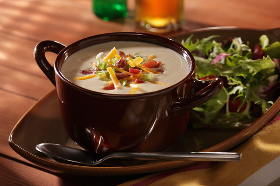 Loaded Baked Idaho® Potato Soup