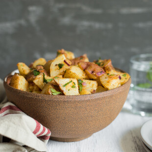 Middle Eastern Potato Salad