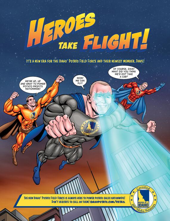 Heroes Take Flight!