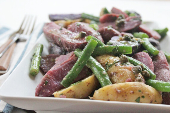 Provençal Idaho® Fingerling Potato Salad