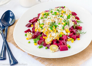 Idaho® Potato and Beet Salad