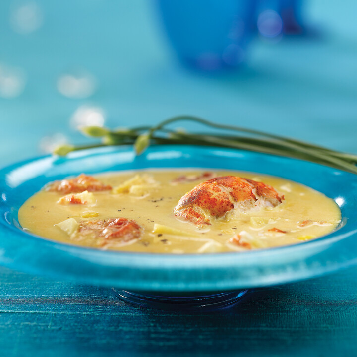 Idaho® Potato and Sweet Corn Vichyssoise
