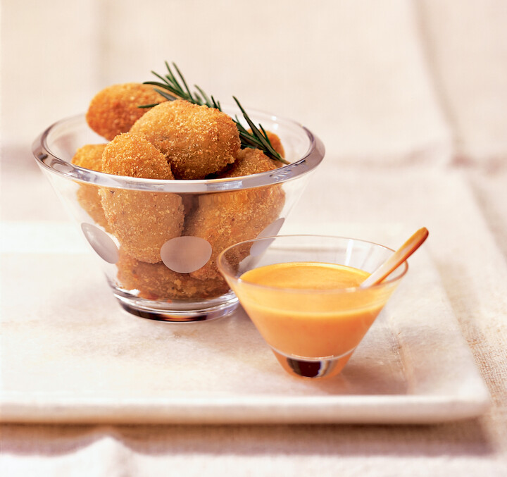 Spicy Idaho® Potato and Chicken Croquettes