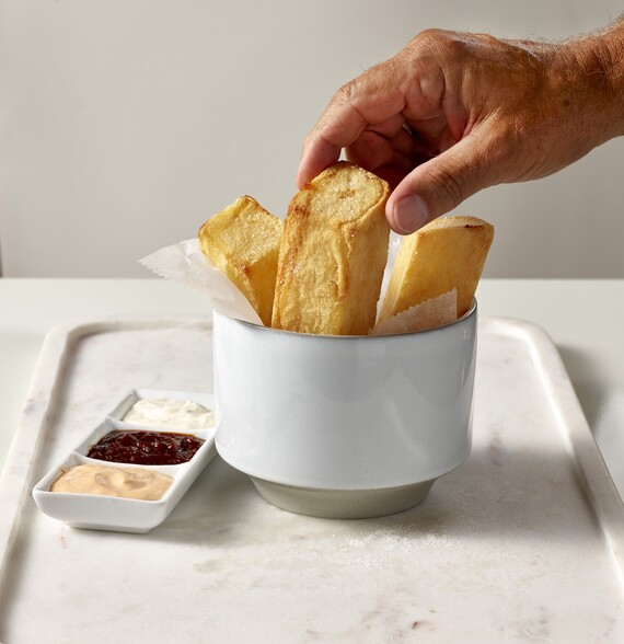 N.Y.C.'s Largest French Fries