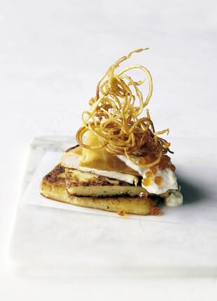 Potato Bread with Matchstick Potatoes