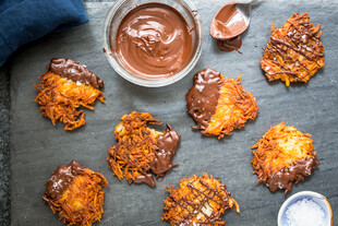 Chocolate Covered Latkes