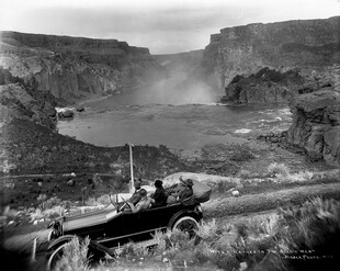 Waterfall on Snake River